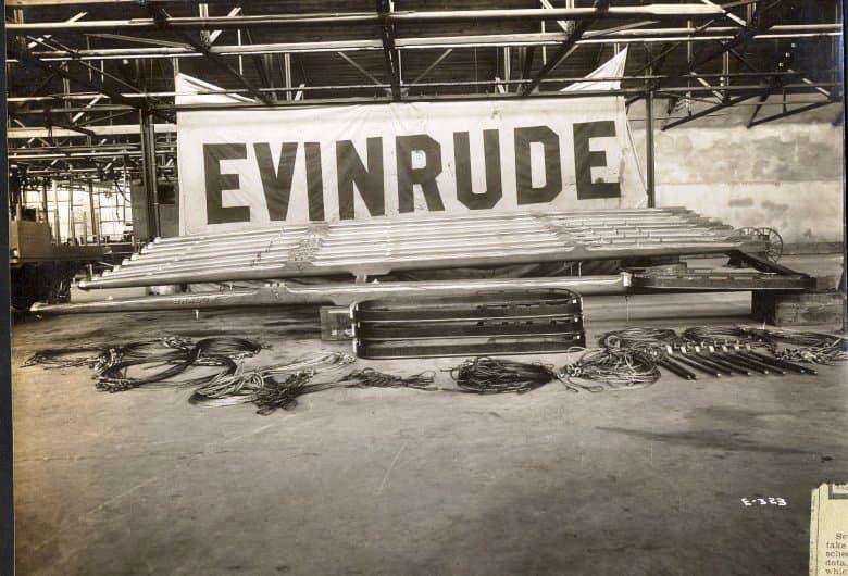 Ole Evinrude's Ice Boats