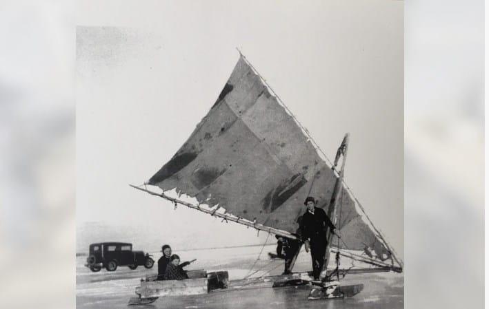 Remembering Escanaba Iceboating
