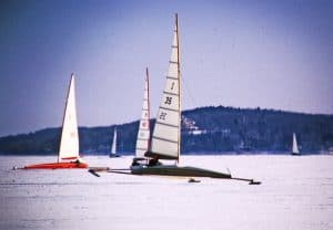 Skeeter Iceboats Lake Geneva