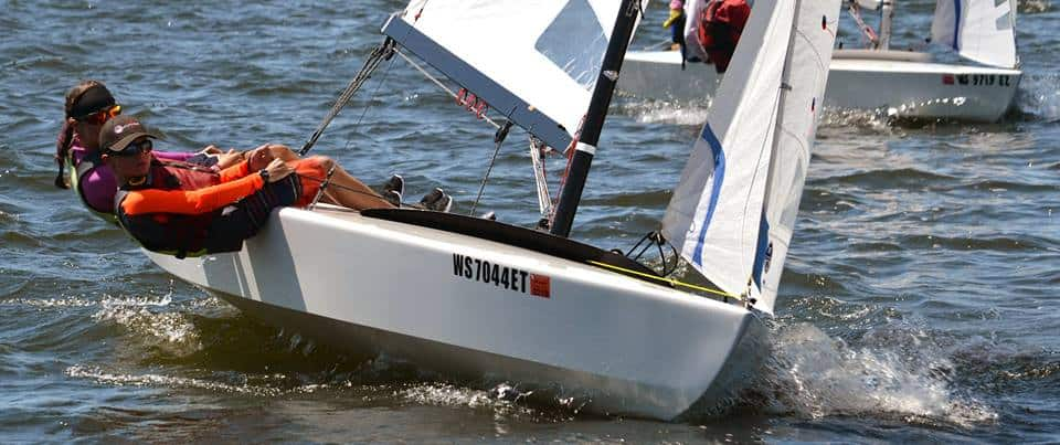 Our Summer Vacations: Simons Victorious in X Boat Regatta