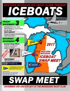 Western Michigan Iceboat Swap Meet Nov 3-4