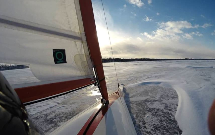 Lake Wingra On Cold December Day This >> Lake Kegonsa Archives Page 2 Of 2 Iceboat Org