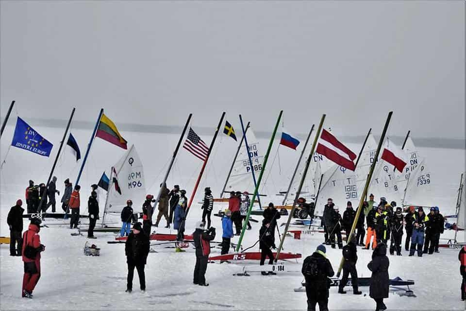 Junior Ice Sailing World Championship: Day 1