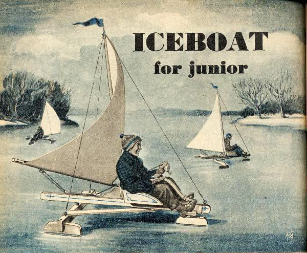 Iceboat Tech That Never Caught On: Front-Seater Junior Iceboat