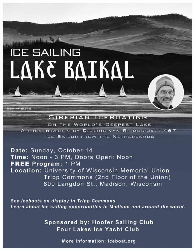 Icesail Lake Baikal Program Uw Union Oct 14 2018