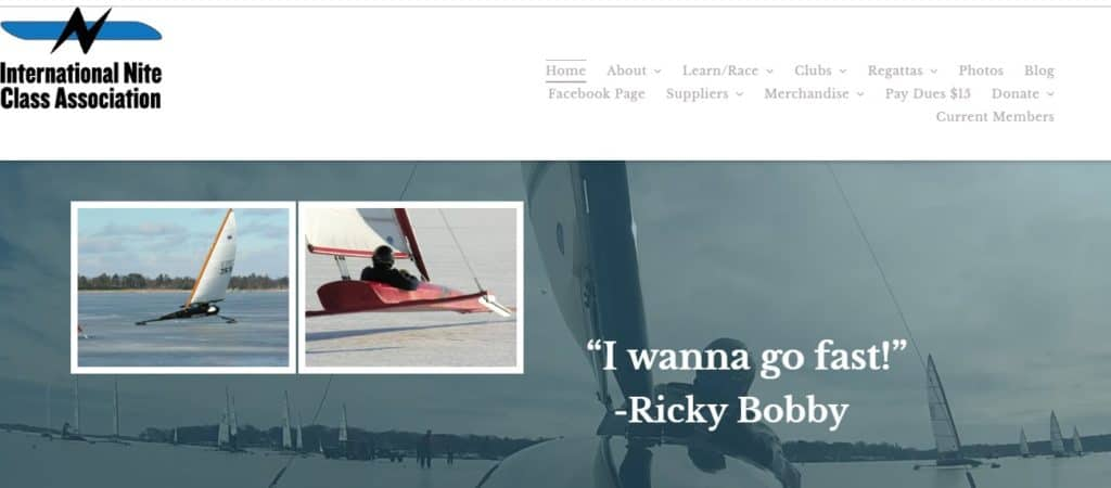 Nite Iceboat Website