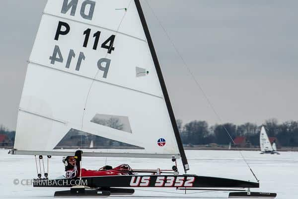 """Winning the Iceboat World Championships in a Borrowed Boat"""